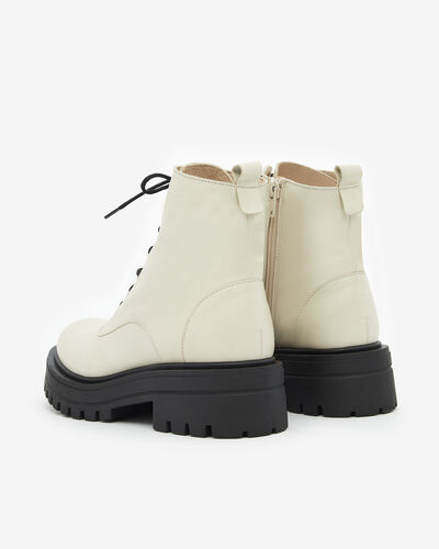 ANKLE BOOTS MERY, IVORY