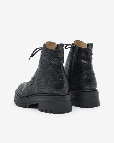ANKLE BOOTS MERY/SERP, BLACK