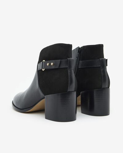 ANKLE BOOTS NEDIA, BLACK