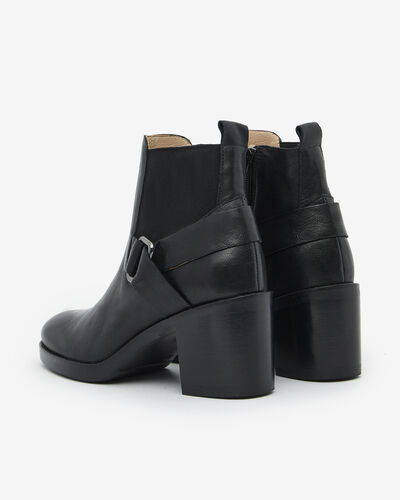 ANKLE BOOTS MILEY, BLACK