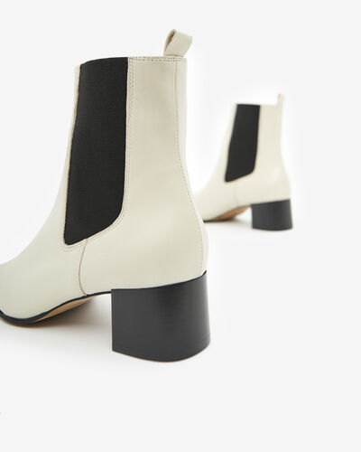 ANKLE BOOTS AIMYE, IVORY