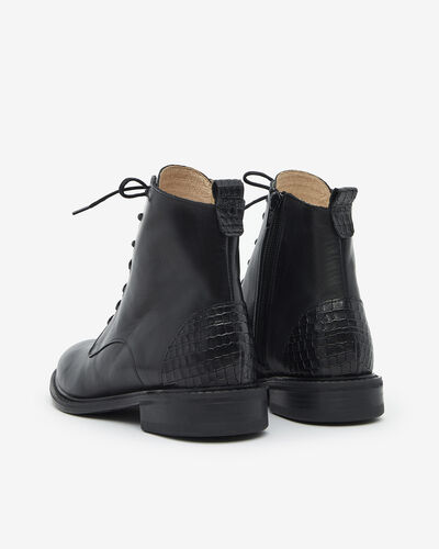 ANKLE BOOTS MECOL, BLACK