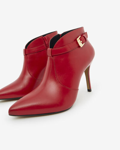 ANKLE BOOTS VOLKER, RED