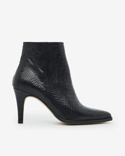 ANKLE BOOTS MEEN/BOA, BLACK