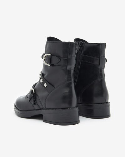 ANKLE BOOTS FERLY, BLACK