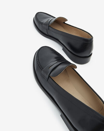 LOAFERS MIKALY, BLACK