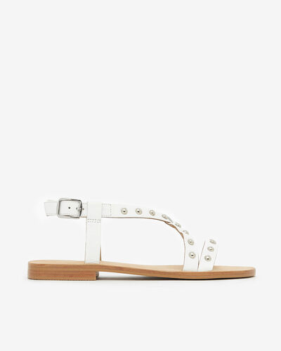 SANDALS IWEST, WHITE