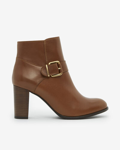 ANKLE BOOTS ANZO, CAMEL