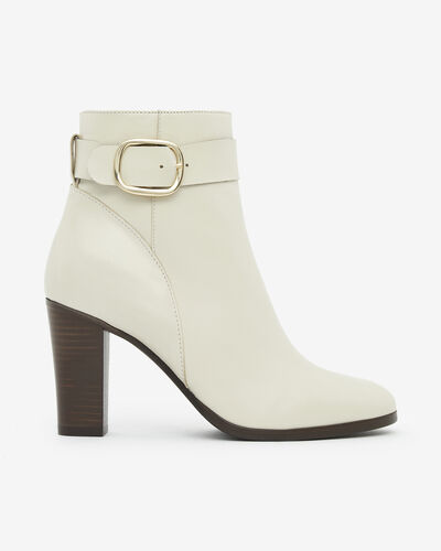 ANKLE BOOTS AMIN, IVORY