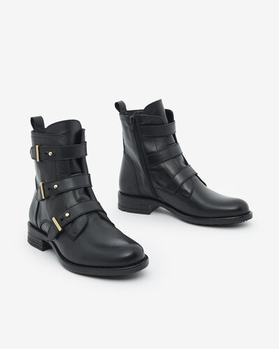 ANKLE BOOTS SOLYTA, BLACK