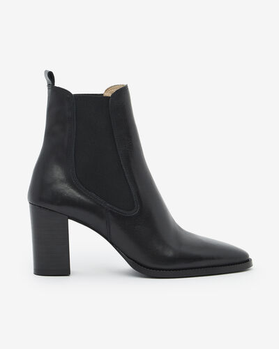 ANKLE BOOTS MAELO, BLACK