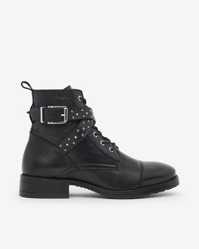 ANKLE BOOTS CHAYAZ, BLACK
