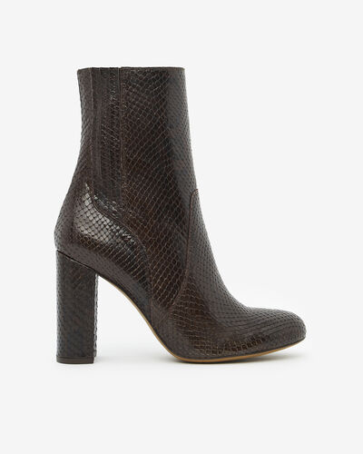 ANKLE BOOTS ANOUAR/SERP, CHOCOLATE