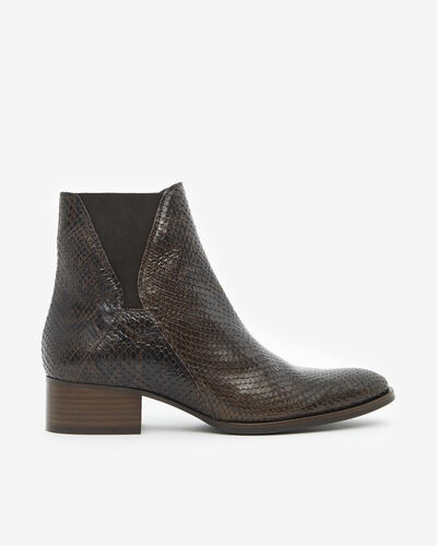 ANKLE BOOTS ARTO/SERP, CHOCOLATE
