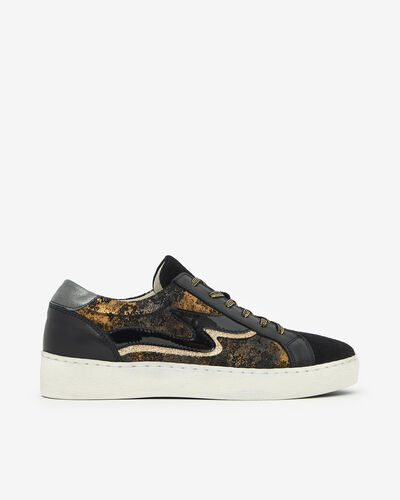 TENNIS SHOES CANAE, BLACK GOLD