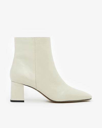ANKLE BOOTS AJAR, IVORY