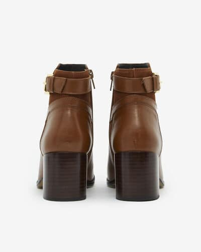 ANKLE BOOTS NASTIA, CAMEL