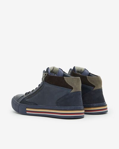 SNEAKERS SHARZO, NAVY BLUE