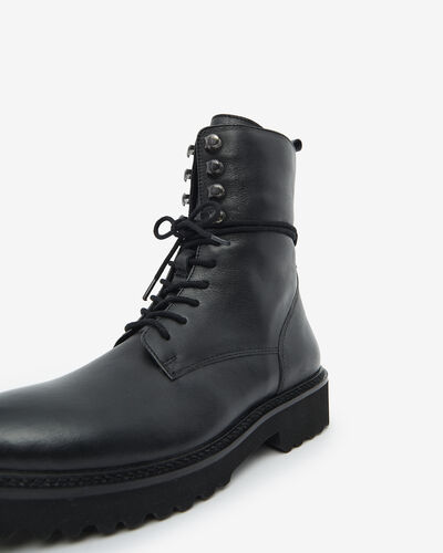 ANKLE BOOTS VYNS, BLACK