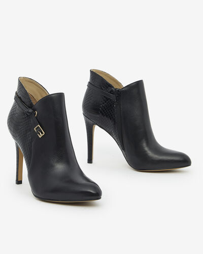 ANKLE BOOTS VYCK, BLACK