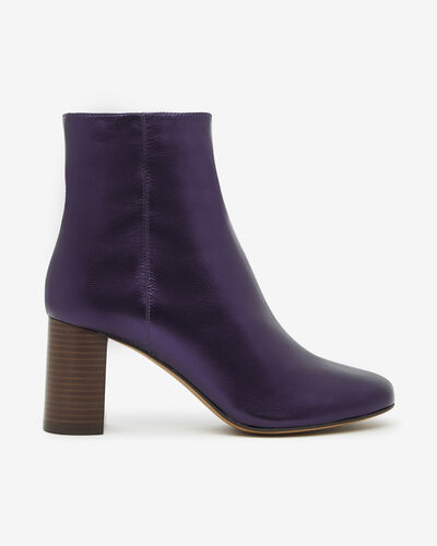ANKLE BOOTS AIRY/MET, VIOLET
