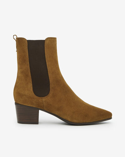 ANKLE BOOTS AGAPITO/VEL, CINNAMON