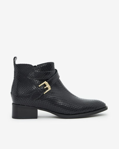 ANKLE BOOTS NAZA/SERP, BLACK