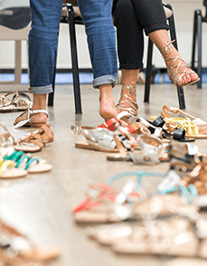 Try-on shoes